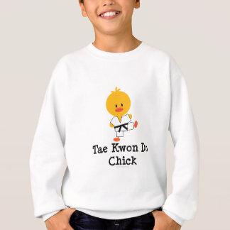 T-shirts O pintinho de Taekwondo caçoa a camisola