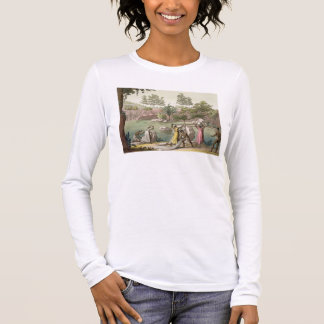 T-shirts O rio perto de San Benedetto, Madagascar, chapeia
