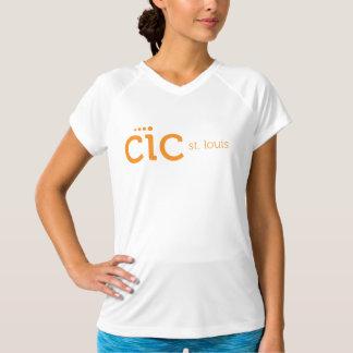 T-shirts O T das mulheres do CIC St Louis