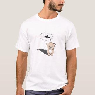T-shirts O ursinho é indiferente e apático