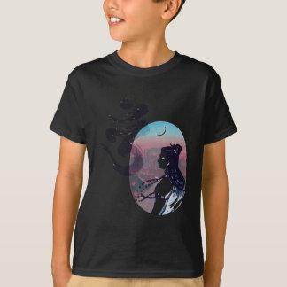 T-shirts Ohm de aumentação da lua