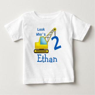 T-shirts Olhe quem é 1 segundo carro da construção do