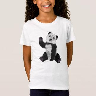 T-shirts Ondulação do urso de panda
