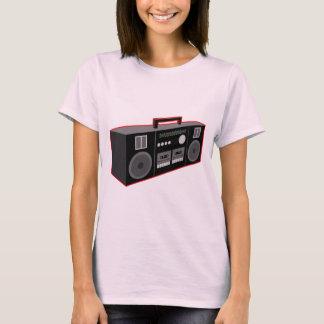 T-shirts os anos 80 Boombox