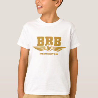 T-shirts Ouro do logotipo de BBB