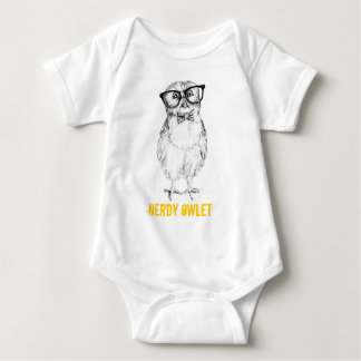 T-shirts Owlet Nerdy