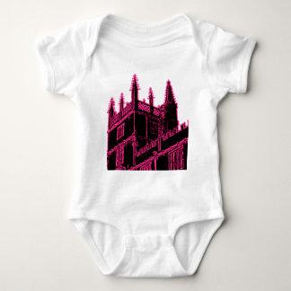 T-shirts Oxford Inglaterra 1986 espirais de construção