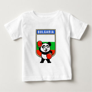 T-shirts Panda do encaixotamento de Bulgária