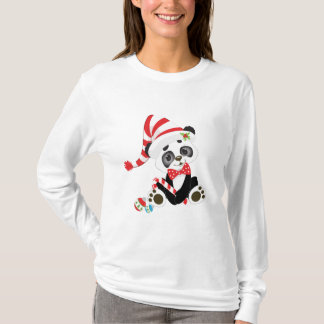 T-shirts Panda do Natal