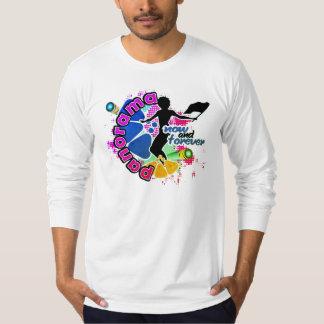 T-shirts Panorama/camisa lembrança de FlagWoman