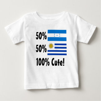 T-shirts Paraguayan 100% do Honduran 50% de 50% bonito