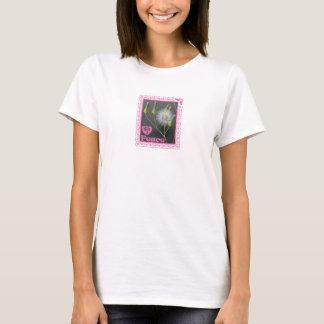 T-shirts Paz com as flores selvagens por gemsbok1