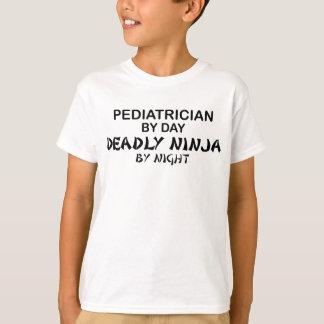 T-shirts Pediatra Ninja mortal em a noite