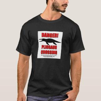 T-shirts PERIGO: CRUZAMENTO de PLIOSAUR - t-shirt!