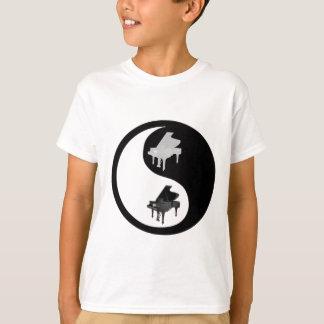 T-shirts Piano Ying Yang