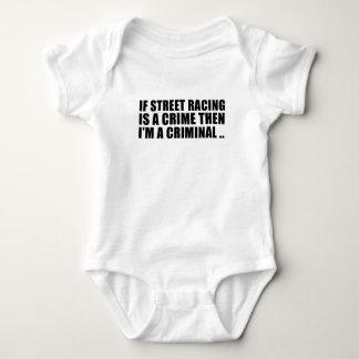 T-shirts Piloto da rua - competência ilegal da rua