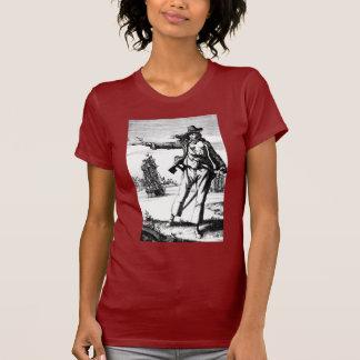 T-shirts pirata fêmea