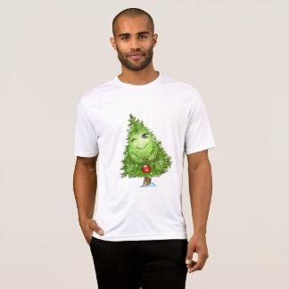 T-shirts Pisc o T do Active dos homens da árvore de Natal