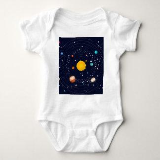 T-shirts Planetas do sistema solar