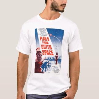 T-shirts Plano 9 do espaço