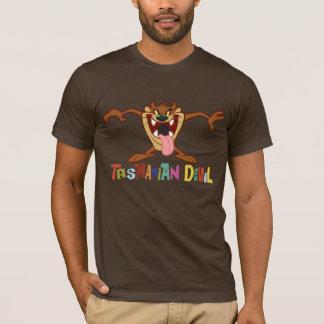 T-shirts Posição TASMANIANA de DEVIL™