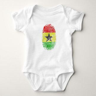 T-shirts Presentes 100% do orgulho do ADN de Ghanian Ghana
