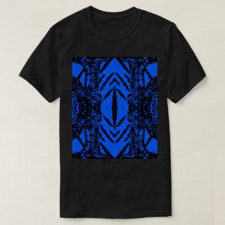 T-shirts Preto/azul #3 abstrato