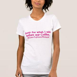 T-shirts Primeiro T do café