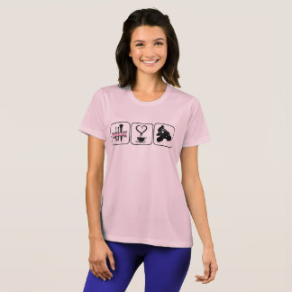 T-shirts Princesa Café e Atv