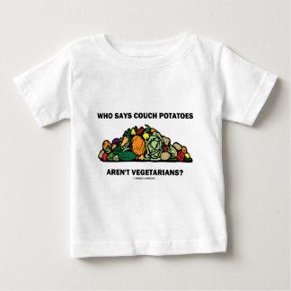 T-shirts Quem diz que os viciados em televisão não são