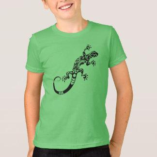 T-shirts Refrigere o lagarto abstrato
