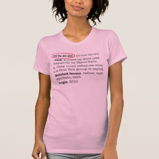 T-shirts Refudiate