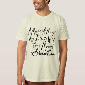 T-shirts Refudiate com o bardo de Wasilla ShakesPalin