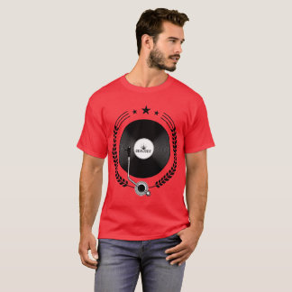 T-shirts Registro de vinil DJ 101