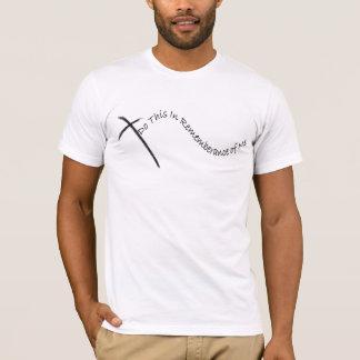 T-shirts relembrança