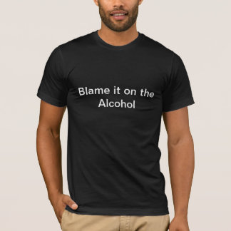 T-shirts Responsabilize-o no álcool