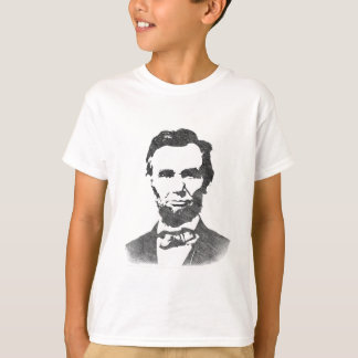T-shirts Retrato do vintage de Abraham Lincoln