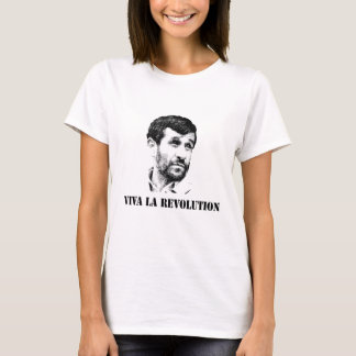 T-shirts Revolução do la de Ahmadinejad - de Viva