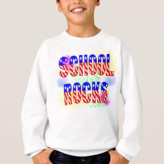 T-shirts Rochas da escola - estrelas & listras