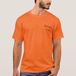 T-shirts Romans1: 16 - Personalizado
