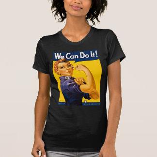 T-shirts Rosie o rebitador nós podemos fazê-lo vintage
