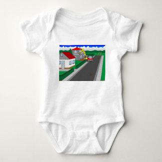 T-shirts Ruas e construção de casa