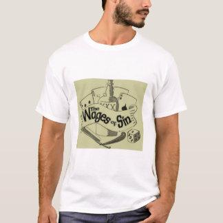 T-shirts Salários do pecado