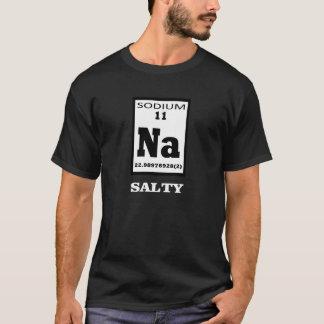 T-shirts Salgado. Humor da mesa periódica