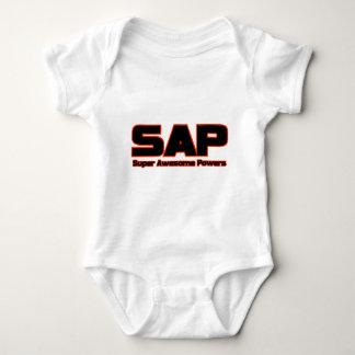 T-shirts SAP - poderes impressionantes super