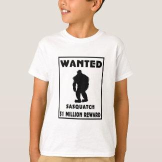 T-shirts Sasquatch quis o poster