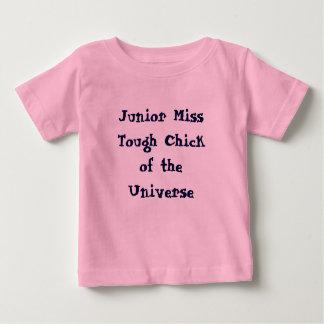 T-shirts Senhorita júnior Resistente Pintinho do T do bebê
