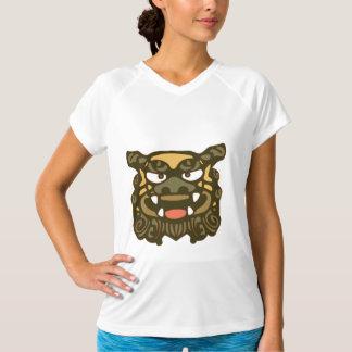 T-shirts Shisa verde