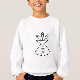 T-shirts Símbolo da igreja do nativo americano