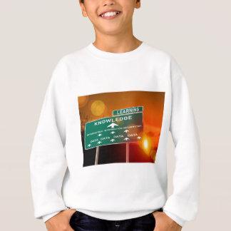 T-shirts Sinal da estrada do conhecimento